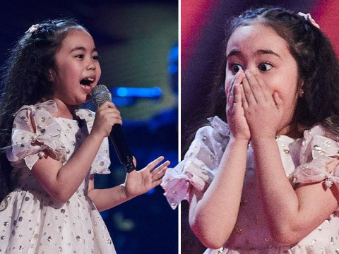 The Voice Kids: Victoria, 7, becomes one of show's youngest ever finalists after incredible Hero cover