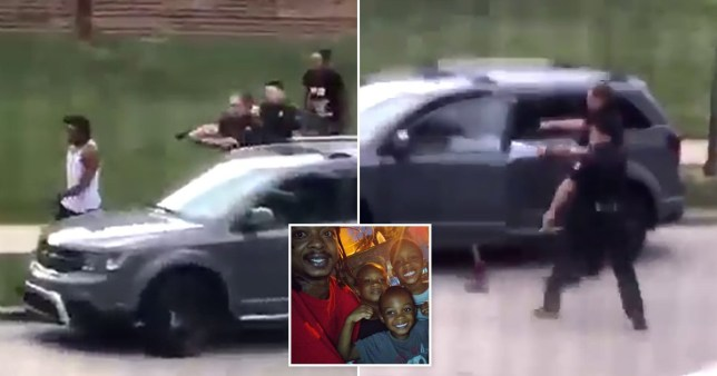 A US police officer is being investigated after Jacob Blake was shot in the back.