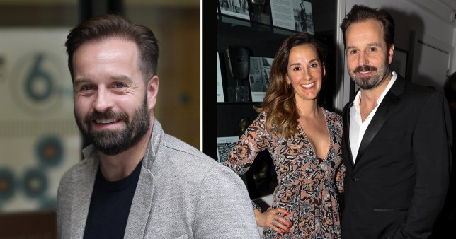 Alfie Boe pictured with wife Sarah Boe