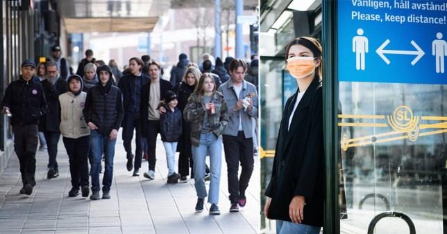 La Suède prétend vaincre le virus après une immunité généralisée rendant les masques volontaires.