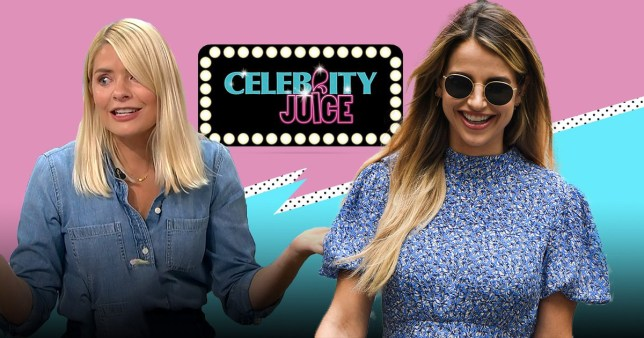 Holly Willoughby and Vogue Williams