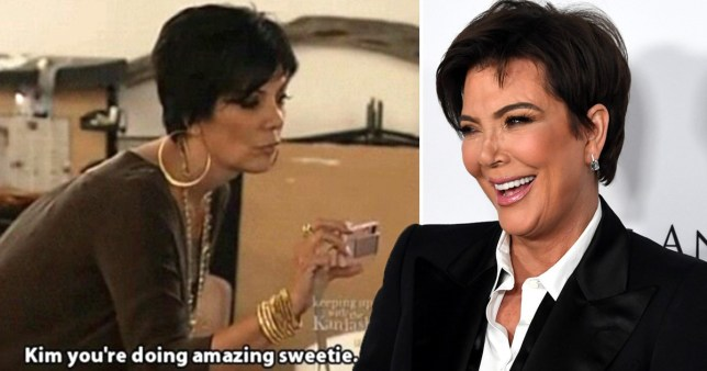 Kris Jenner is trying to trademark her catchphrase 'You're doing amazing, sweetie' because why not?