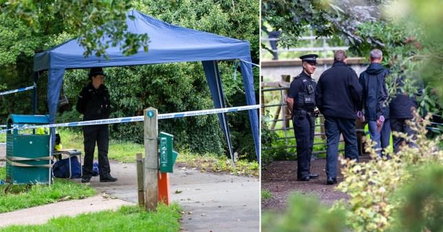 Murder probe launched after human bones found dumped in bin bag in Suffolk river