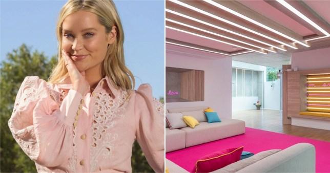Laura Whitmore says Love Island villa smells like farts and fake tan