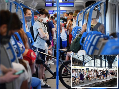 Train passengers at risk of catching coronavirus if sat within 8ft of infected person