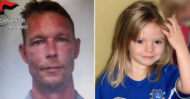 Christian Brueckner, 43 ans, suspecté de Madeleine McCann, ne parlera jamais à la police de la disparition du tout-petit, a déclaré son avocat.