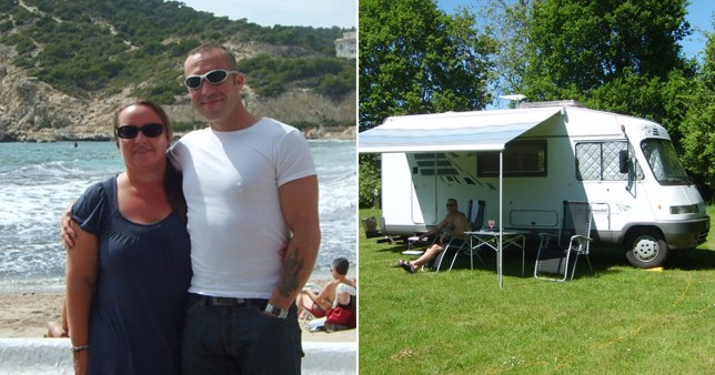 Couple who loved expensive hotels celebrate 15 years since they packed it all in to live permanently in a motorhome Pics: PA Real Life
