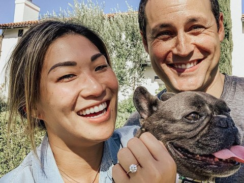 Glee star Jenna Ushkowitz announces engagement to longterm boyfriend David Stanley