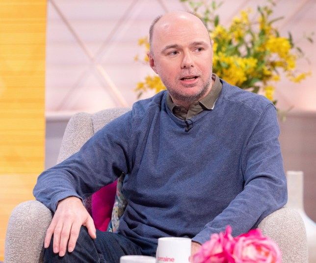 Editorial use only Mandatory Credit: Photo by Ken McKay/ITV/REX (10577754b) Karl Pilkington 'Lorraine' TV show, London, UK - 09 Mar 2020 EVERYONE'S FAVOURITE IDIOT ABROAD...KARL PILKINGTON 'WHY YOU SHOULDN'T EXPECT TO SEE ME AND RICKY GERVAIS REUNITE ANYTIME SOON...' * Since parting parting company with his long time collaborator Ricky Gervais Karl Pilkington has cemented himself as something of a comedy star in his own right with his critically acclaimed sitcom 'Sick of It' * Today he'll be revealing why his attempts at retirement failed and the things he's well and truly sick of at the moment...