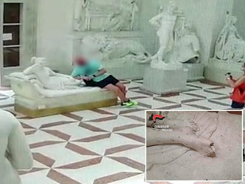 Tourist who broke toe off 200-year-old statue was caught by coronavirus track and trace