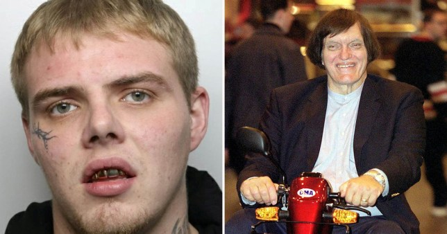 Composite image of Ricky Dunne and Jaws, played by Richard Kiel