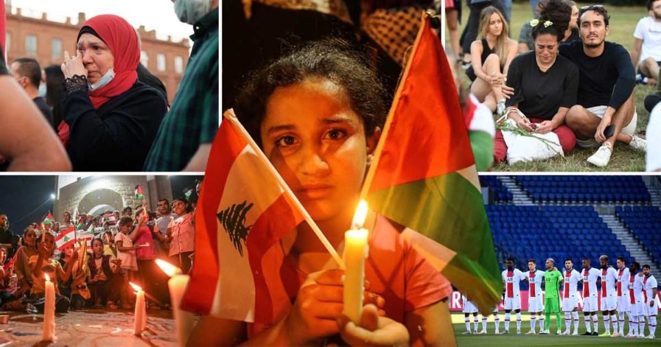 World holds tributes for Beirut