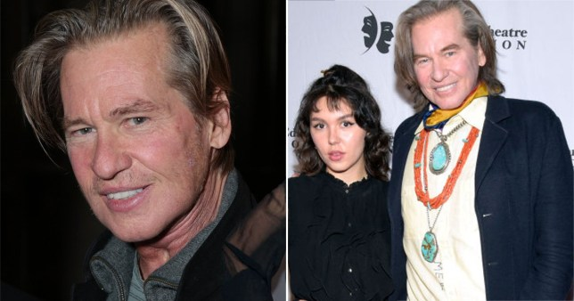 Val Kilmer pictured with daughter Mercedes