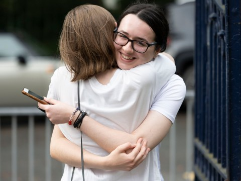 How were A-level results calculated this year?