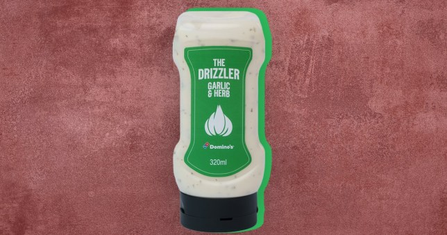 Domino's pizza dip now in squeezy bottle