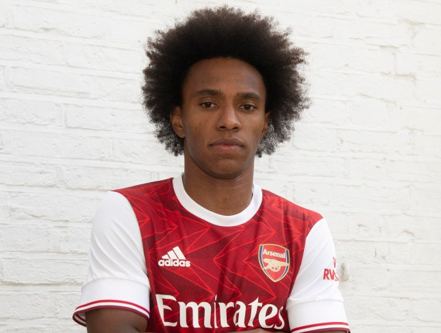 Willian joined Arsenal on a free transfer from Chelsea