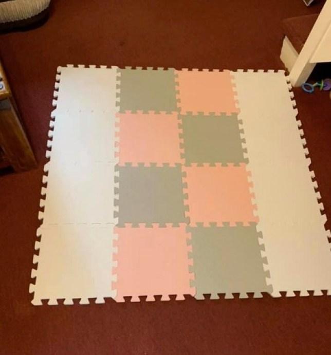 Aldi foam mats (Picture: Facebook)