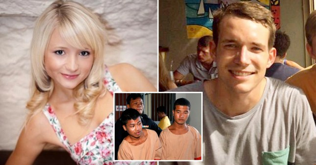 The killers of British backpackers David Miller and Hannah Witherage have had their death sentences reduced to life imprisonment.