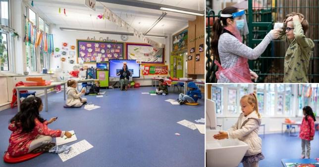 Coronavirus measures taken in schools.