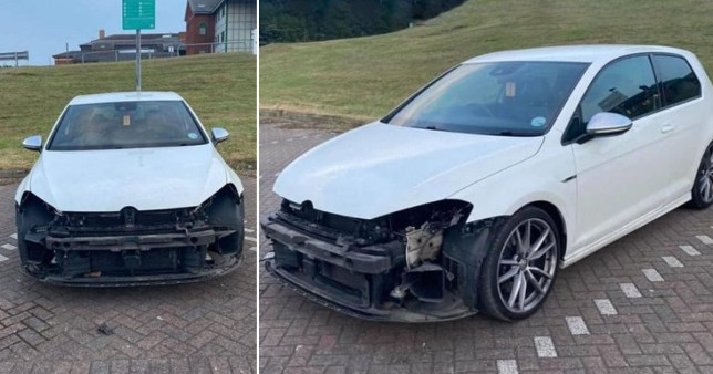 Hospital worker who'd just worked a 12-hour shift had car destroyed