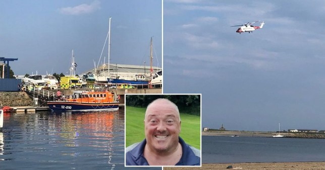 An off-duty police officer was killed in a thrill-seeking accident when he fell from a jet-ski. Father-of-one Barry Davies, 50 Pics: Daily Post Wales/Wales News Service