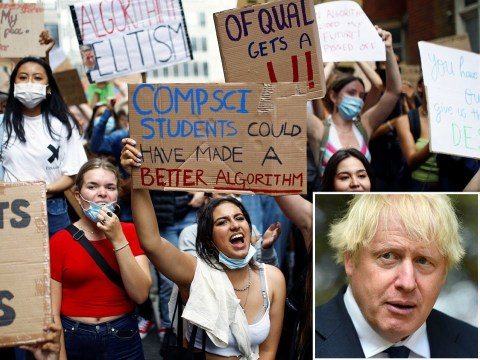 'Invisible' Boris Johnson told to 'get a grip' and sort out A-Level results chaos