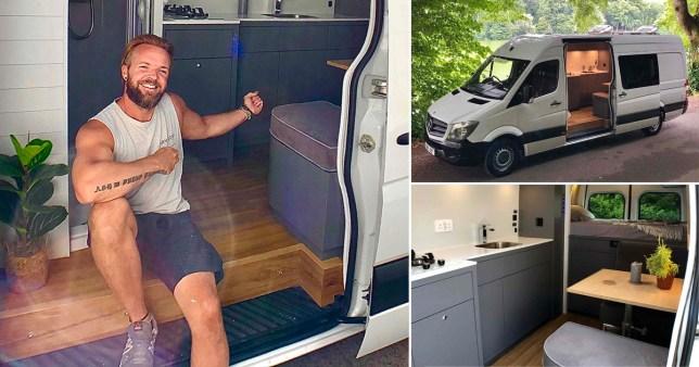 Daryl Lloyd Witt and his van