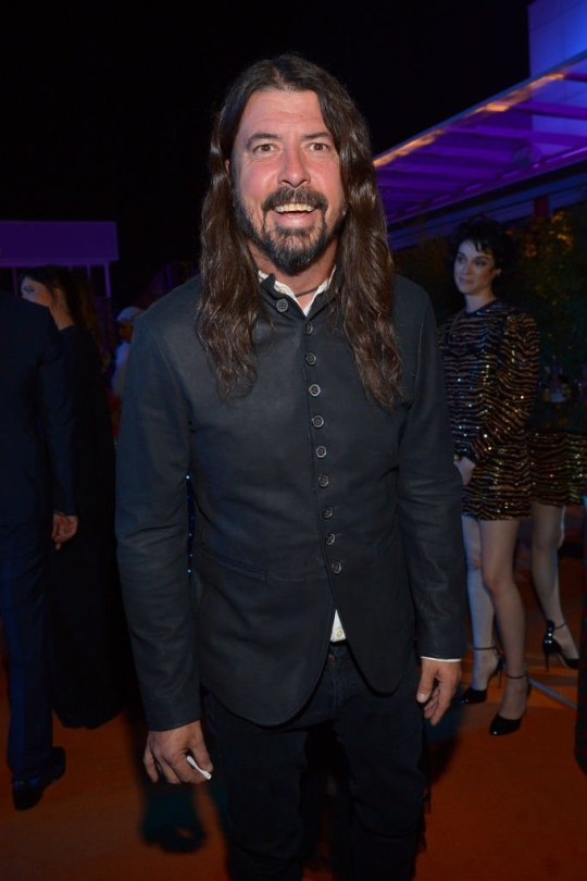 LOS ANGELES, CA - NOVEMBER 03: Musician Dave Grohl attends 2018 LACMA Art + Film Gala honoring Catherine Opie and Guillermo del Toro presented by Gucci at LACMA on November 3, 2018 in Los Angeles, California. (Photo by Donato Sardella/Getty Images for LACMA)
