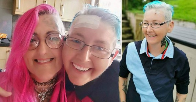 A woman recently diagnosed with cancer believes she was attacked near her home because of her sexuality. Heulwen Rowcliffe, who is is originally from Llanybydder in Carmarthenshire, was diagnosed with breast cancer around a month ago and has since had surgery and radiotherapy.