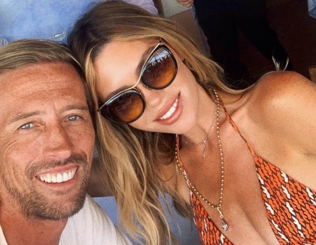 Peter Crouch and Abbey Clancy take selfie on holiday