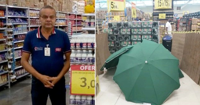Store forced to apologise after body of man who died on shop floor concealed with umbrellas and cardboard boxes