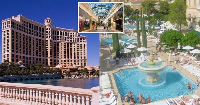 The Bellagio hotel in Las Vegas