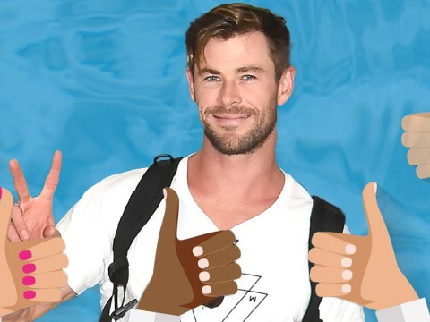 Chris Hemsworth is here to banish all your bad days by telling you just how amazing you are