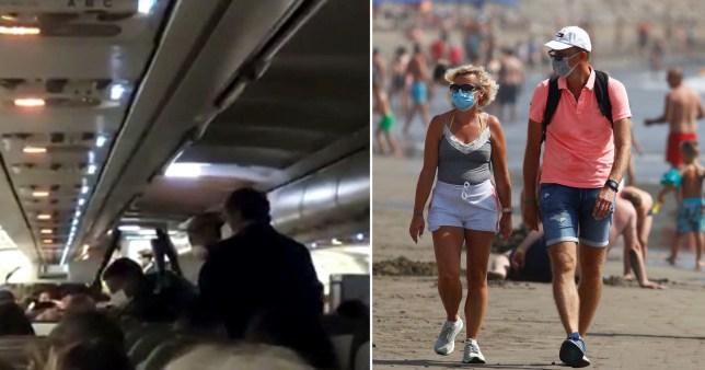 Deux Britanniques arrêtés en Espagne après avoir refusé de porter des masques sur un vol de Tenerife