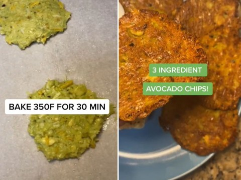 Three-ingredient avocado chips are easy, keto-friendly, and delicious