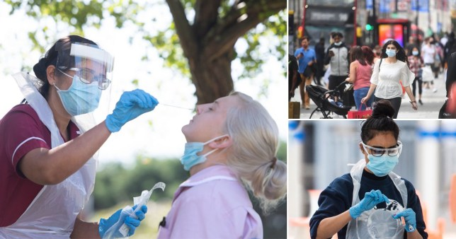 'Operation Moonshoot' plan would see everybody in the UK tested for coronavirus weekly Pics: PA