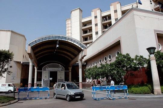 Inde - 06 juin: vue extérieure de l'hôpital Indraprastha Apollo à New Delhi, en Inde.  (Photo de Ravi S Sahani / The India Today Group via Getty Images)