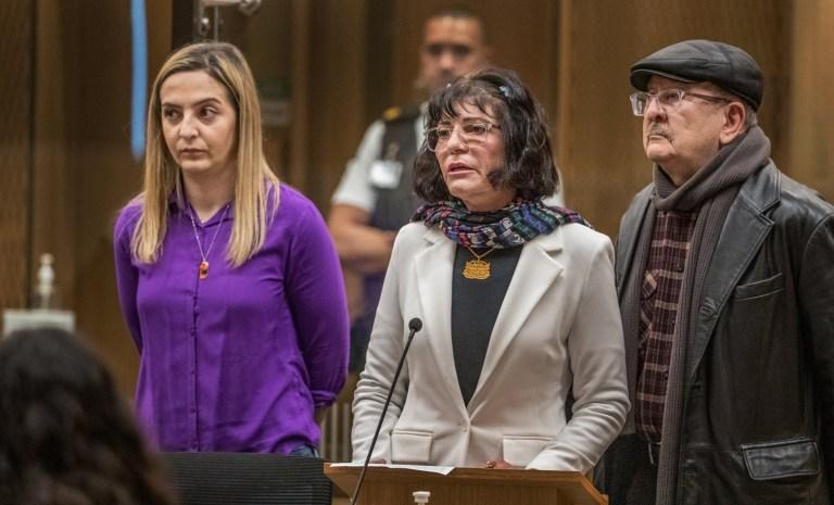 CHRISTCHURCH, NOUVELLE-ZÉLANDE - 24 AOÛT: Janna Ezat est vue lors de l'audience de détermination de la peine pour le tireur de la mosquée de Christchurch Brenton Tarrant à la Haute Cour de Christchurch le 24 août 2020 à Christchurch, Nouvelle-Zélande.  Brenton Harrison Tarrant a été reconnu coupable de 92 chefs d'accusation relatifs à la pire fusillade de masse de l'histoire de la Nouvelle-Zélande.  L'Australien a été inculpé de 51 chefs d'accusation de meurtre et de 40 de tentative de meurtre ainsi que de participation à un acte de terrorisme après avoir ouvert le feu à la mosquée Al Noor et au centre islamique de Linwood à Christchurch le vendredi 15 mars 2019. 50 personnes ont été tuées et des dizaines ont été blessés tandis qu'un autre homme est décédé plus tard à l'hôpital.