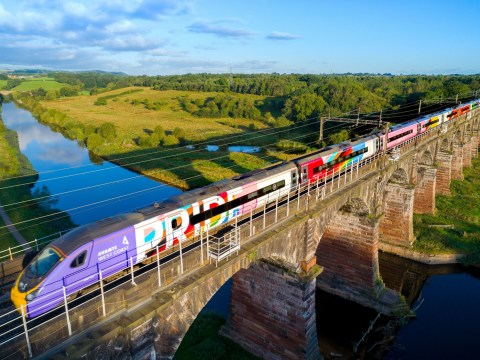 UK's first Pride train staffed by all-LGBT+ crew makes its first journey