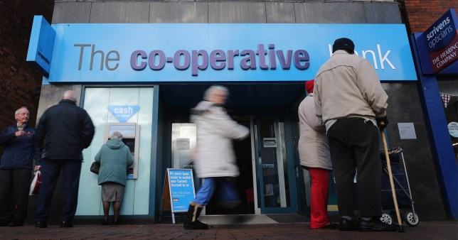 The Co-op Bank will axe 350 jobs and close 18 branches.