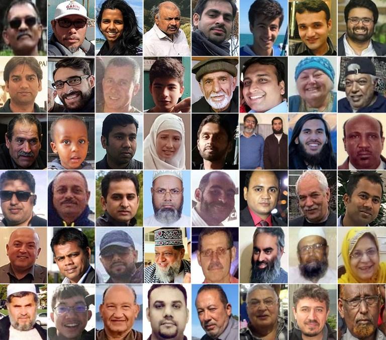 Photos des victimes de la fusillade de masse