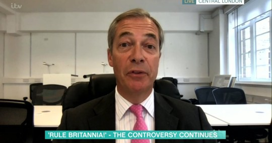 Nigel Farage on This Morning