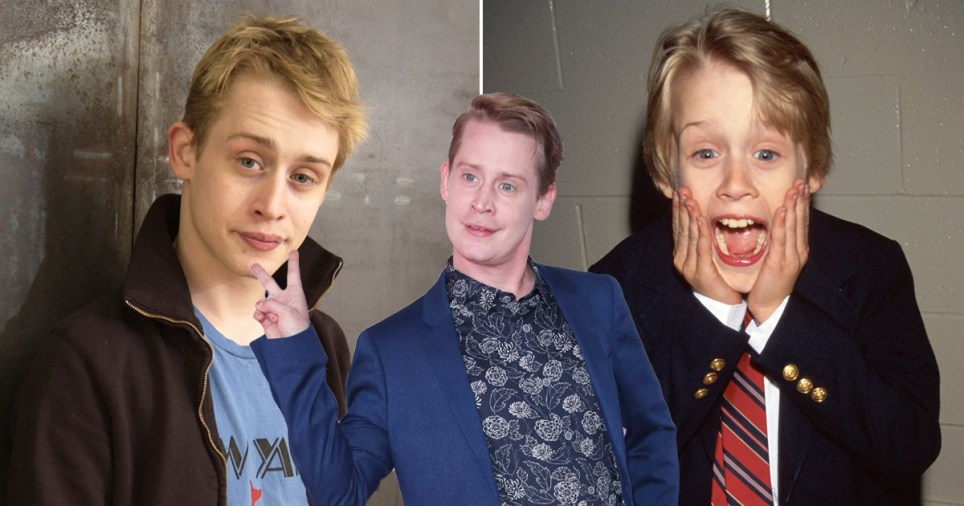 Macaulay Culkin pictured over the years
