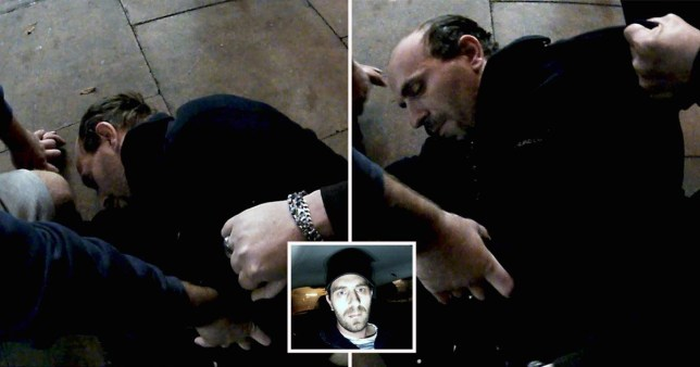 Stuart Burnett, 35, thought he was meeting an underage girl for sex when he was pinned to the ground.