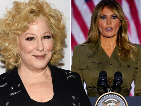 Bette Midler responds to backlash over her tweet mocking Melania Trump's accent