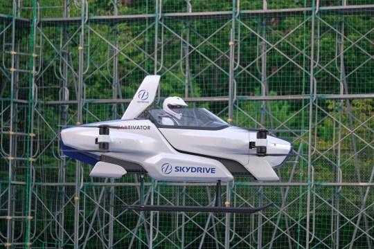 Flying car in Japan
