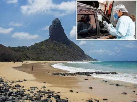 Brazilian island reopens to tourists but you have to have had Covid to be let in