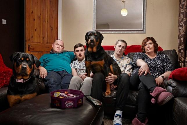 Malone family Gogglebox