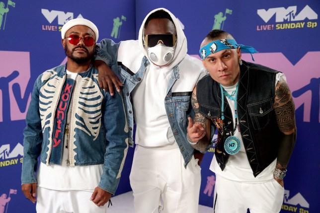 MTV VMAs red carpet pics Black Eyed Peas