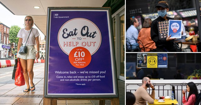 Restaurants 'made portions smaller but charged full price during Eat Out to Help Out' (Picture: Getty, Rex)